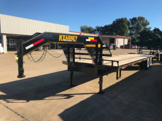 Kearney 32' Dual Wheel Flatbed Trailer
